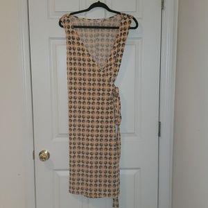 NWT JustFab Multi-Colored Wrap Dress